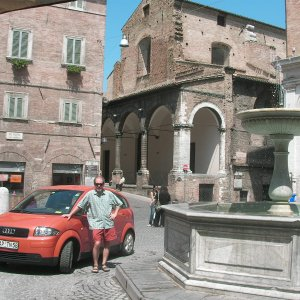My A2 in Urbino Italy.....