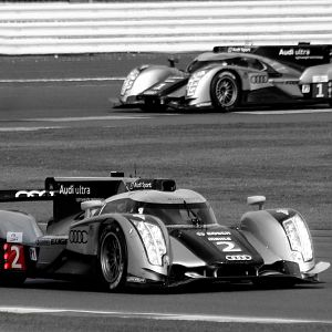 Audi R18 at the 6 Hours of Silverstone