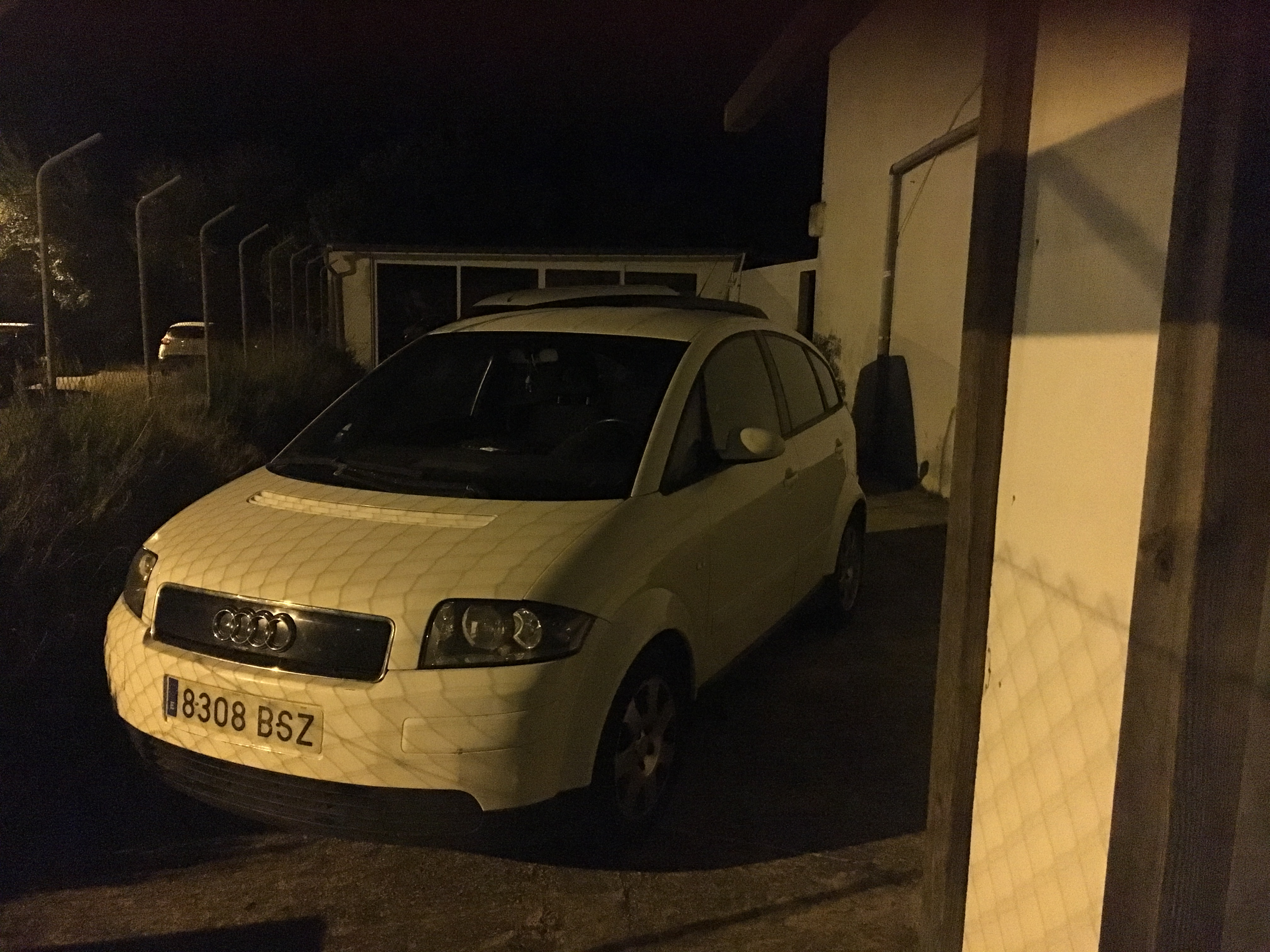 Don't think this white A2 will be going anywhere soon! | Audi A2 Owners'  Club