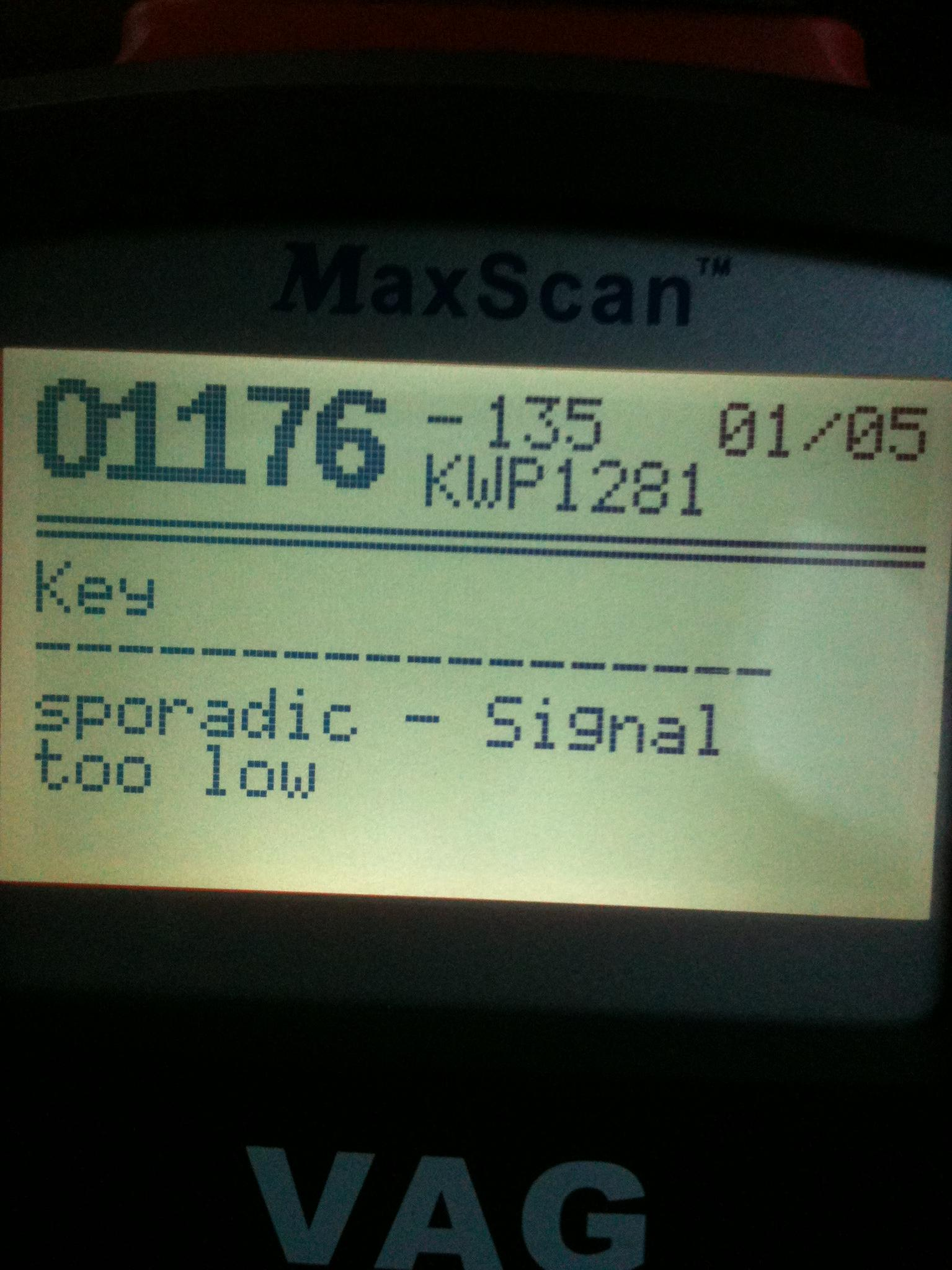 Steering angle sensor fault ??? what are these fault codes