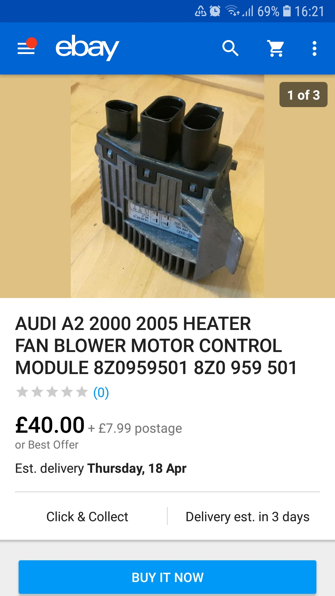 Radiator Fan only working when the engine is turned off    Audi A2